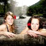 Bad in Kreuznach: Bad im Springbrunnen