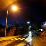 alles andere: Straße bei Nacht